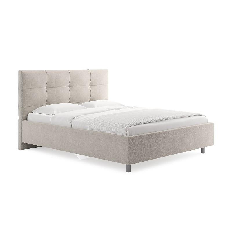 Кровать Caprice, 200x200, вельвет, пм
