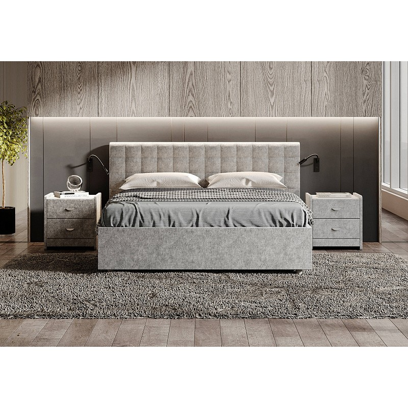 Кровать Siena, 180x200, вельвет, пм