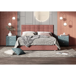 Кровать Tivoli, 160x200, шинилл, пм